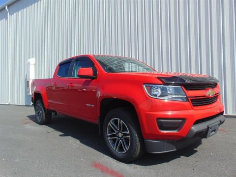2019 Chevrolet Colorado Crew 4x4 WT / Long Box