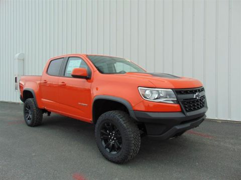 New 2020 Chevrolet Colorado Crew 4x4 Zr2 / Short Box Four Wheel Drive Pick up