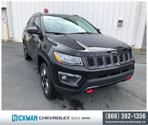 Pre-Owned 2017 Jeep Compass 4x4 Trailhawk Four Wheel Drive SUV