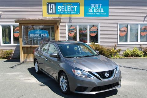 Pre-Owned 2019 Nissan Sentra 1.8 SV CVT (2) 4-Door Sedan